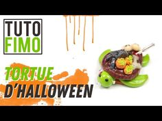 tutorial: miniature Halloween turtle