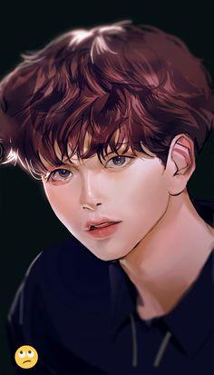 Akira Manga, Korean K Pop, Baby Songs, Bts Aesthetic Pictures, Anime Version, Kpop Fanart, Chinese Art, My Sunshine, Historia