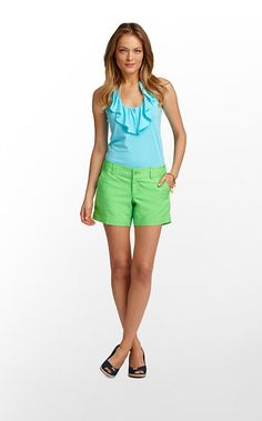 Lilly Pulitzer Callahan Short in Green $64