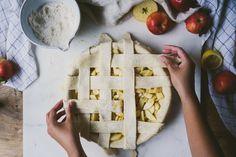 White Miso Apple Pie