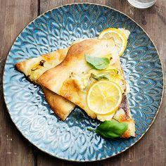 Pizza bianca med sardeller och citron | Recept ICA.se
