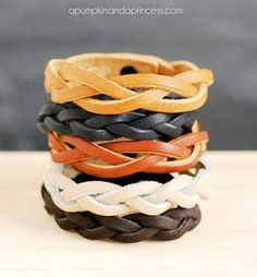 DIY Braid Bracelet Without Any Loose Ends