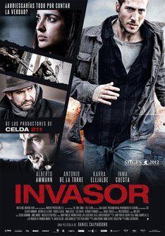 """Tráiler de """"Invasor"""". Información, sinópsis y ficha técnica de la película #películas #movies #films"""