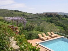 "Photo of La Locanda, Charming Hotel in Radda, Chianti, Tuscany, Italy ""Scenic property, magnificent position facing the medieval Volpaia and endless panorama"" - Karen Brown, Italy,Tuscany and Umbria charming bed and breakfast and country inn"