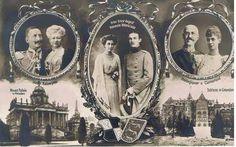 Adel - Das Kaiserpaar, Prinzessin Viktoria Luise und Prinz Ernst August. Herzogpaar vonCumberland. S/W. Ungelaufen