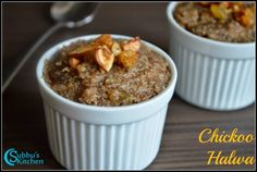 Chickoo Halwa Recipe | CheeKoo Halwa Recipe | Supporta Halwa Recipe - Subbus Kitchen