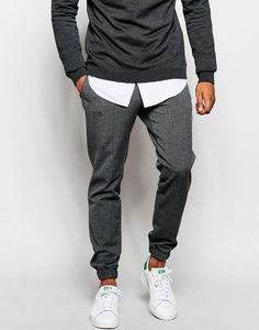 Image 1 of River Island Men& Apparel Trendy Jogging Pants Trendy Mens Fashion, Stylish Men, Men Casual, Casual Styles, Fashion Mode, Dope Fashion, Fashion Outfits, Outfit Man, Estilo Cool