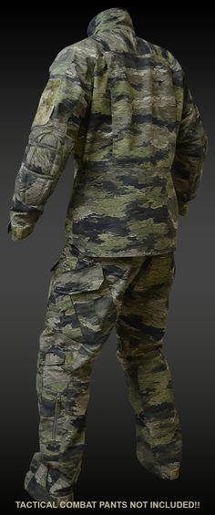 A-TACS iX TACTICAL FIELD JACKET (TFJ) | A-TACS iX GEAR | Tactical Gear