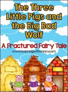 Fractured Fairy Tales - Teaching with Nancy | Teaching with Nancy