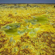 Außerirdische Landschaft am #dallol #vulkan in #äthiopien #danakil #afar  Wer Lust auf mehr hat findet das auch in meinem aktuellen Artikel in der britischen Dailymail -> http://dailym.ai/1RBEWgU  #99instagramers #99igers by 99igers