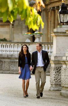The day after the Wedding. LK Bennet shoes, Zara dress. #KateMiddleton #LK Bennet #Zara