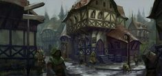Fantasy town