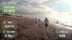 GOOGLE GLASS FOR FITNESS - Race Yourself - Virtual Reality Fitness Motiv...