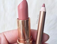 Pillow talk liner, bitch perfect lipstick both Charlotte Tilbury