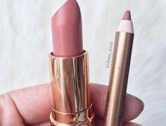 Pillow talk liner, bitch perfect lipstick both Charlotte Tilbury