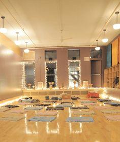 New York City's most beautiful yoga studios – Well+Good