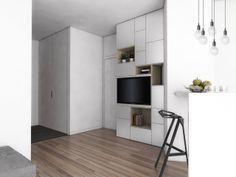 Tiny bright apartment / Warsaw 2013 / NANA design