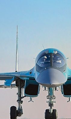 Sukhoi Fullback fighter-bomber (a variant of the Flanker family) Airplane Fighter, Fighter Aircraft, Military Jets, Military Aircraft, Air Fighter, Fighter Jets, Sukhoi, Drones, Aircraft Design