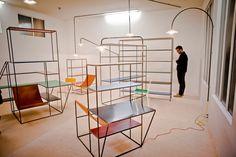 Evénement / Collection de mobilier Muller Van Severen par Fien Muller et Hannes Van Severen sur la biennale Interieur 2012 de Courtrai / Yooko: design, décoration & architecture d'intérieur