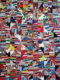 Quilt,1995  Anna Williams, American, born 1927  Various textiles  76 1/4 x 61 1/2 in. (193.7 x 156.2 cm)