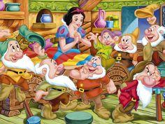 Risultati immagini per snow white and the seven dwarfs walt disney world Disney Love, Disney Magic, Disney Art, Disney Pixar, Disney Wiki, Disney Princess Snow White, Snow White Disney, Cartoon Cartoon, Stitch Cartoon