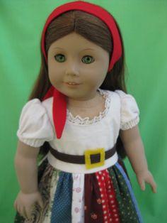 American Girl Doll Gypsy Costume by MuxOriginals, via Flickr