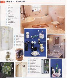 English vocabuary - Bathroom