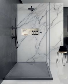 45 small bathroom decoration tips on how to make a small bathroom look like . - 45 little bathroom decorating tips on how to make a small bathroom look like it – New Ideas # loo - Bad Inspiration, Bathroom Inspiration, Modern Bathroom, Small Bathroom, Minimalist Bathroom, Bathroom Ideas, Wet Room Bathroom, Wet Room Shower, Restroom Ideas
