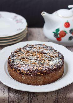 Crostata Brownie Fondente http://ilpandizenzero.it/sito/crostata-brownie-fondente/