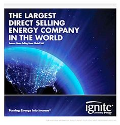 Proud to work for the Largest Direct Selling Company in the World! Thank You IgNite!  Message me on FB at https://www.facebook.com/jeff.rudisill.73/friends
