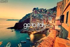Vacation/FOT in Italy: visit Rome, eat authentic Italian food, go to the beaches, etc..
