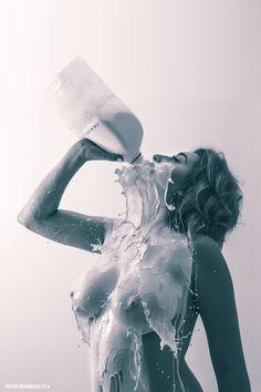 Lactose Intolerant Artist Name:Trevor Drummond Tumblr:littlebrickbox.com
