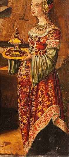 - OPUS INCERTUM -: EL BRIAL 1480. Las tentaciones de San Antonio, subasta (detalle) detail of the temptations of St. Anthony