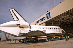 United Airlines - Our maintenance hangar at LAX is hosting a very special guest for the next month - Space Shuttle Endeavour - as it prepares to become a part of a permanent exhibit at the California Science Center starting October 30th.