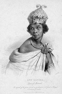 Rainha Nzinga de Matamba e Ndongo (1583-1663), que lutou contra o colonialismo português em Angola   15 mulheres foda do passado que deveríamos ter conhecido na escola