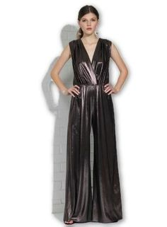 ac84c844b82 Gunnar Jumpsuit in Moonlight Metallic. Holiday Party OutfitHoliday  PartiesAmanda UprichardNew Years ...