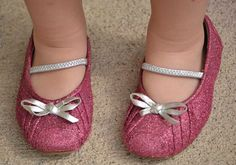 Breathe some new life into old shoes with glitter spray paint.
