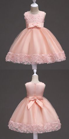 Cheap Flower Girl Dresses Burgundy Short Flower Girl Dress With Floral Hem for Wedding, Shop plus-sized prom dresses for curvy figures and plus-size party dresses. Ball gowns for prom in plus sizes and short plus-sized prom dresses for Cheap Flower Girl Dresses, Dresses Kids Girl, Girl Outfits, Dress Girl, Cheap Dresses, Baby Dresses, Dress Red, Baby Birthday Dress, Birthday Dresses