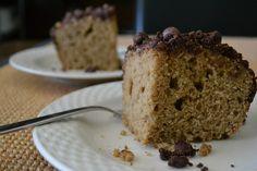 Tea and Chocolate Cake with Cocoa Crumble [Vegan]