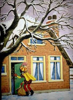 Santa, Dutch, Posters, Painting, Nostalgia, Art, Dutch People, Painting Art, Dutch Language