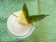 Macadamia Nut Chi-Chi - A tropical, breezy taste of Hawaii in the tourist loving 60's. Trader Vic's Macadamia Nut Liqueur, Viking Fjord Vodka, pineapple, and coconut.