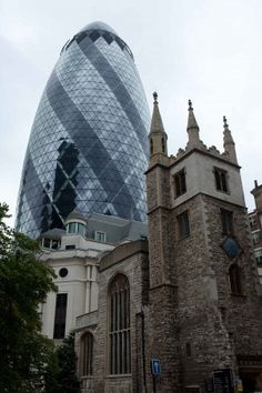 Old vs new #architecture in #London © Hans Couwenbergh Photography