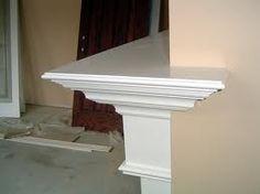 wrap around fireplace mantel. Wrap around corner rustic beam mantle  wrap ideas Pinterest Mantle