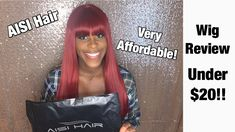 Under $20 Wig! | ft. AISI Hair| Amazon Wigs, Channel, Amazon, Youtube, Hair, Riding Habit, Lace Front Wigs, Strengthen Hair, Youtubers