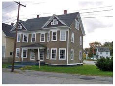 88 Pine Street, Millinocket, ME. - Two Family (listed as a single, but has two kitchens, living rooms) 5 bed, 4 bath - 55,000 ~ Sheila
