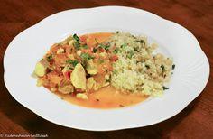 Hiidenuhman keittiössä: Intialainen kalacurry Risotto, Ethnic Recipes, Food, Essen, Meals, Yemek, Eten