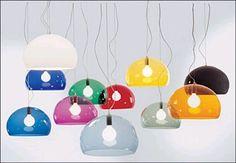Hanglamp FL/Y Kartell