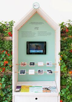 Kapuziner Klostergarten, Münster, Exhibition Stand, DE, Kitzig Interior Design and Kitzig Identites by Kitzig Design Studios  exhibition design Design Studio, Studios, Presentation, Display, Decor, Projects, Lawn And Garden, Pictures, Floor Space