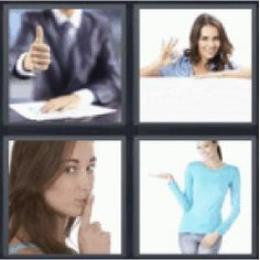 12 best 4 pics 1 word 7 letters images on pinterest calligraphy 4 pics 1 word man with thumbs up woman making ok sign woman making expocarfo Gallery