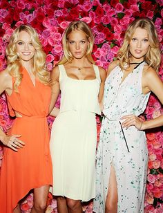 Victoria's Secret models Lindsay Ellingson, Erin Heatherton and Toni Garrn teamed up for the launch of the lingerie label's new fragrance Love Is Heavenly. http://news.instyle.com/photo-gallery/?postgallery=109092#5